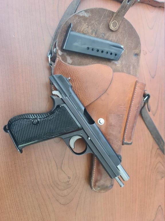 Pistolet SIG P210 20210814