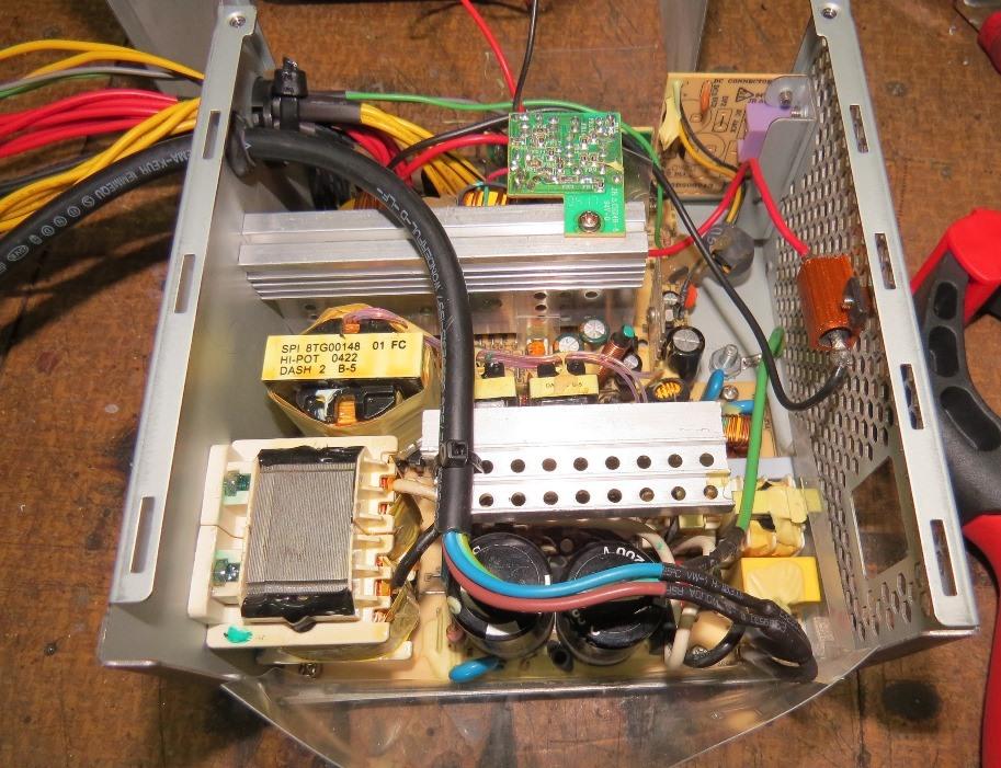 Du 12v dans la cagouille avec une alimentation de PC Img_4217