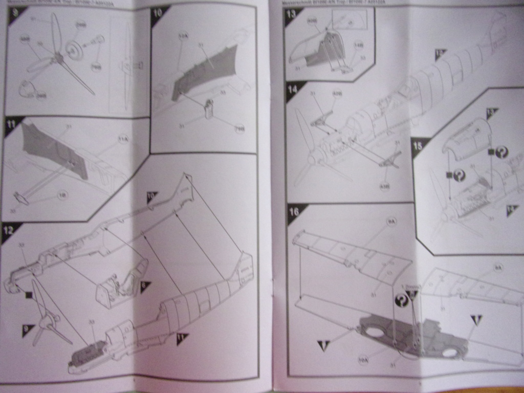 Messerschmitt Bf190E-4/N Trop  / Bf109E-7 [AIRFIX -  1/48éme] 104_3268