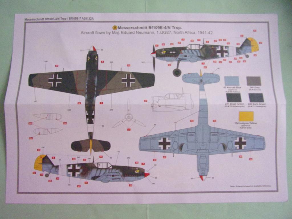 Messerschmitt Bf190E-4/N Trop  / Bf109E-7 [AIRFIX -  1/48éme] 104_3274