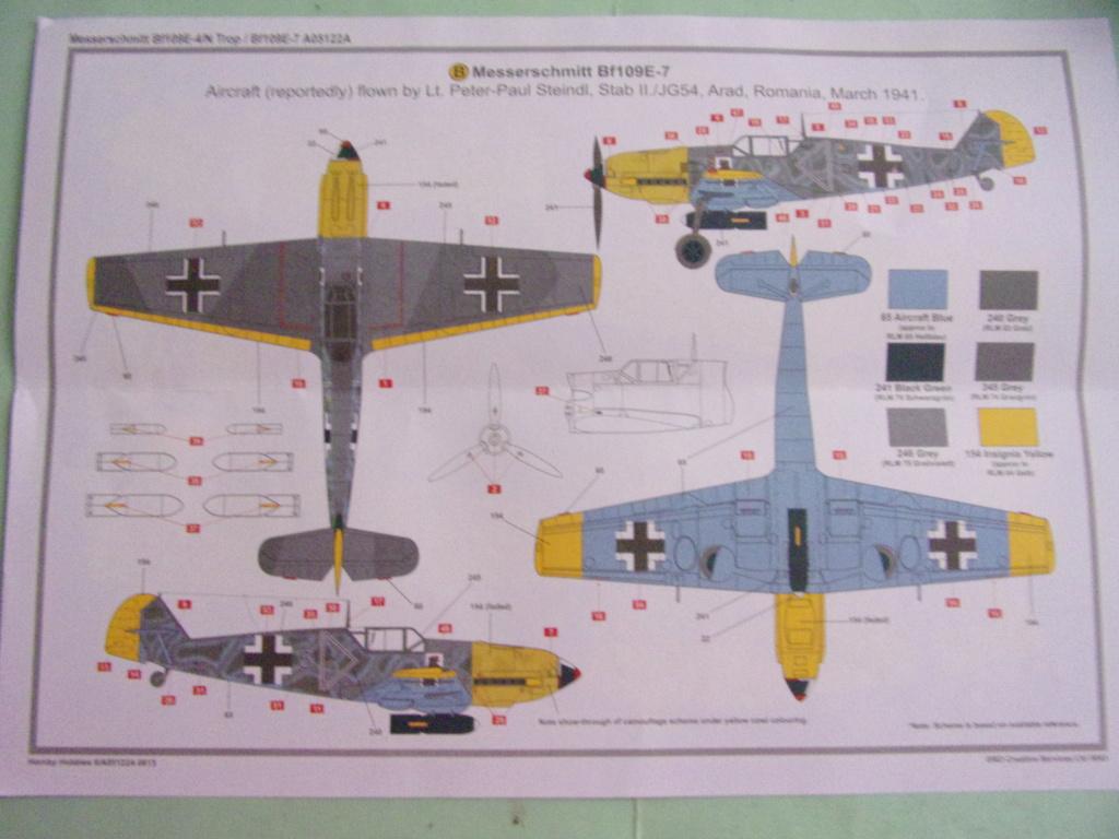 Messerschmitt Bf190E-4/N Trop  / Bf109E-7 [AIRFIX -  1/48éme] 104_3275