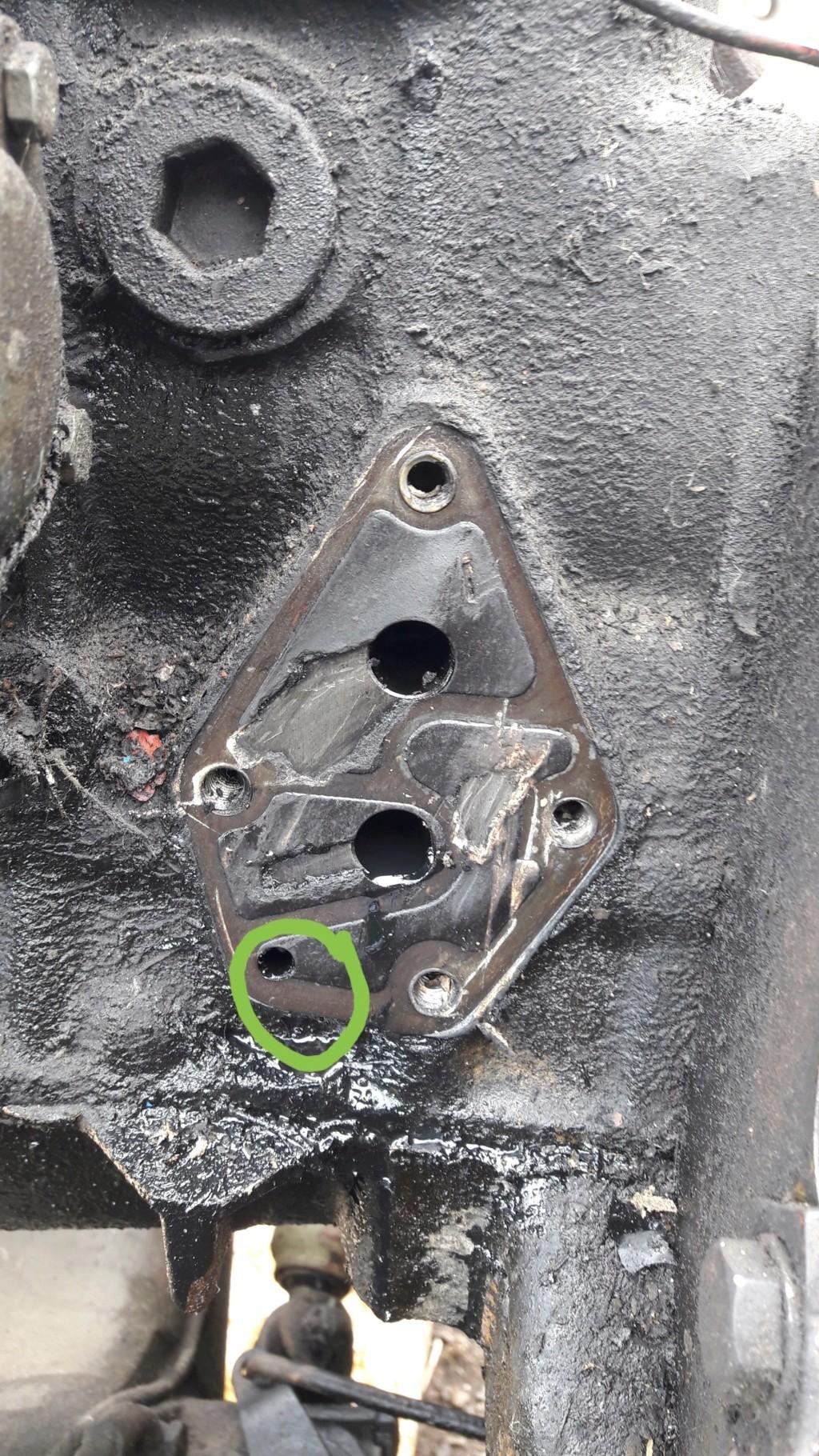 Problème changement moteur 421. 20180711