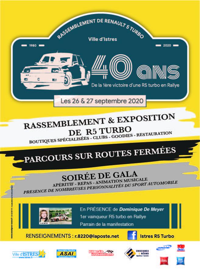 40éme anniversaire de la 1er victoire d'une R5T en rallye Flyer-10