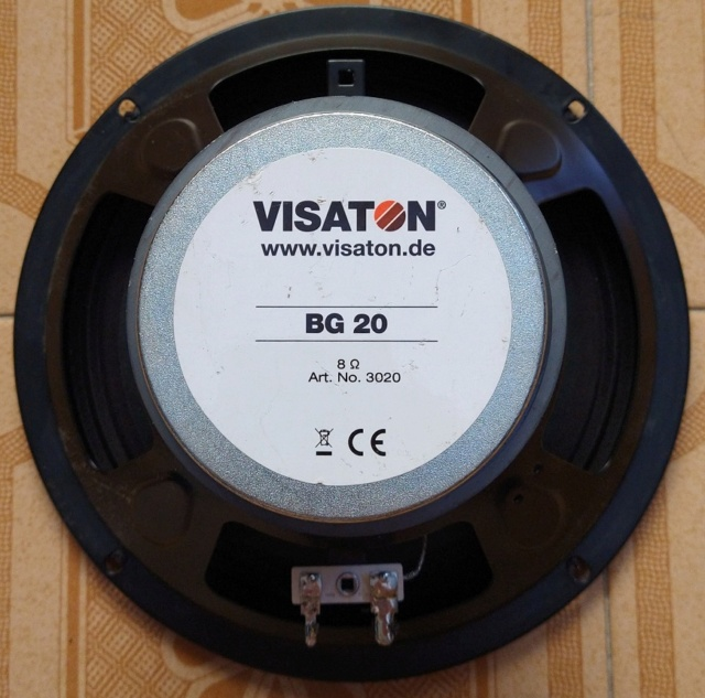 Vendo coppia fullrange Visaton BG20 (20cm) + filtro notch. 60 euro SS incluse! Img_2015