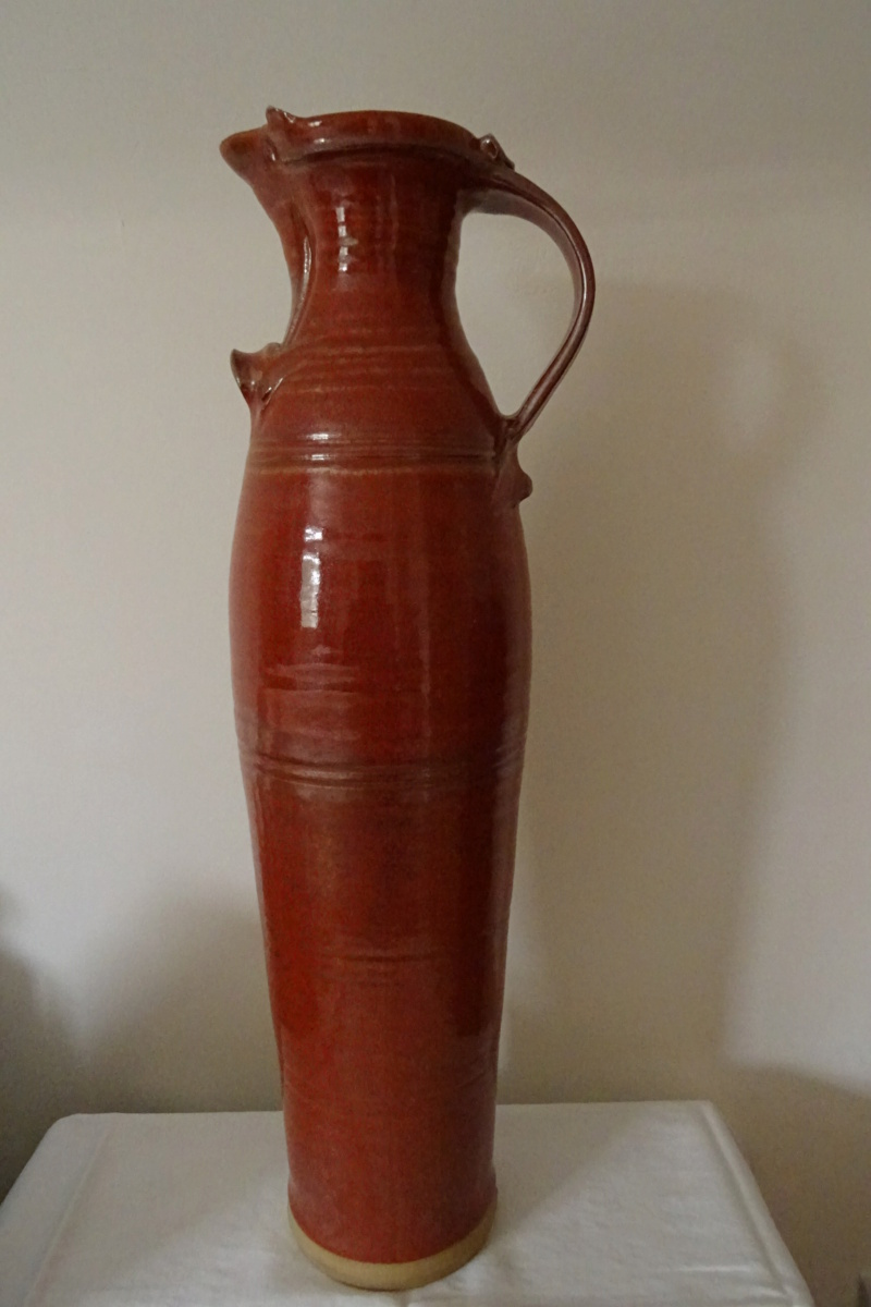 Massive baluster jug (53cm tall) with unknown maker's mark Dsc02024