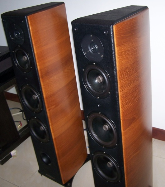 Sonus Faber Grand Piano Domus High End Speakers (Used Complete Set) 100_4010