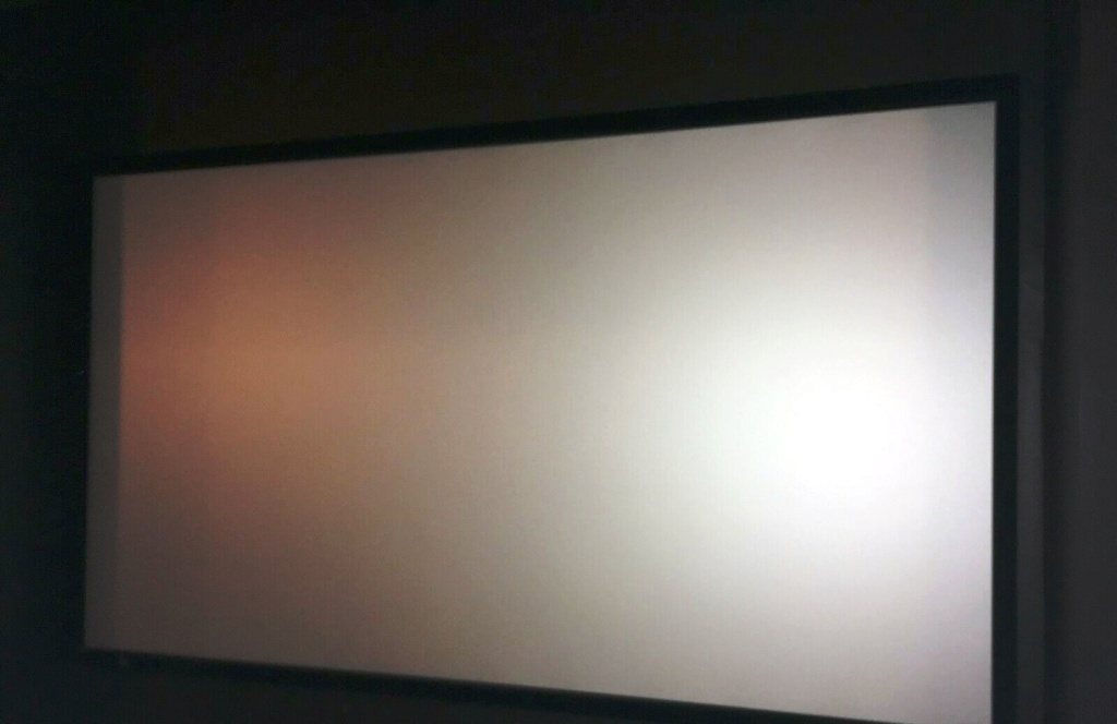 Projector Screen (US Made High Quality Stewart Fire Hawk G3-Grey Screen) 110 Inches 212