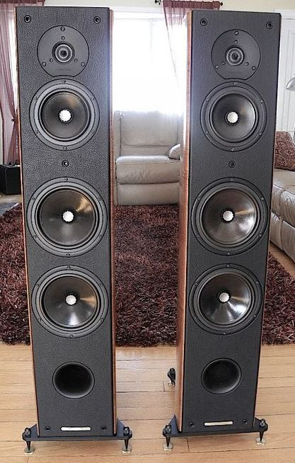 Sonus Faber Grand Piano Domus High End Speakers (Used Complete Set) 94011610