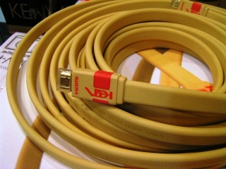 Van den Hul VDH HDMI Flat Cable (10 meters)-Used Hdmi10
