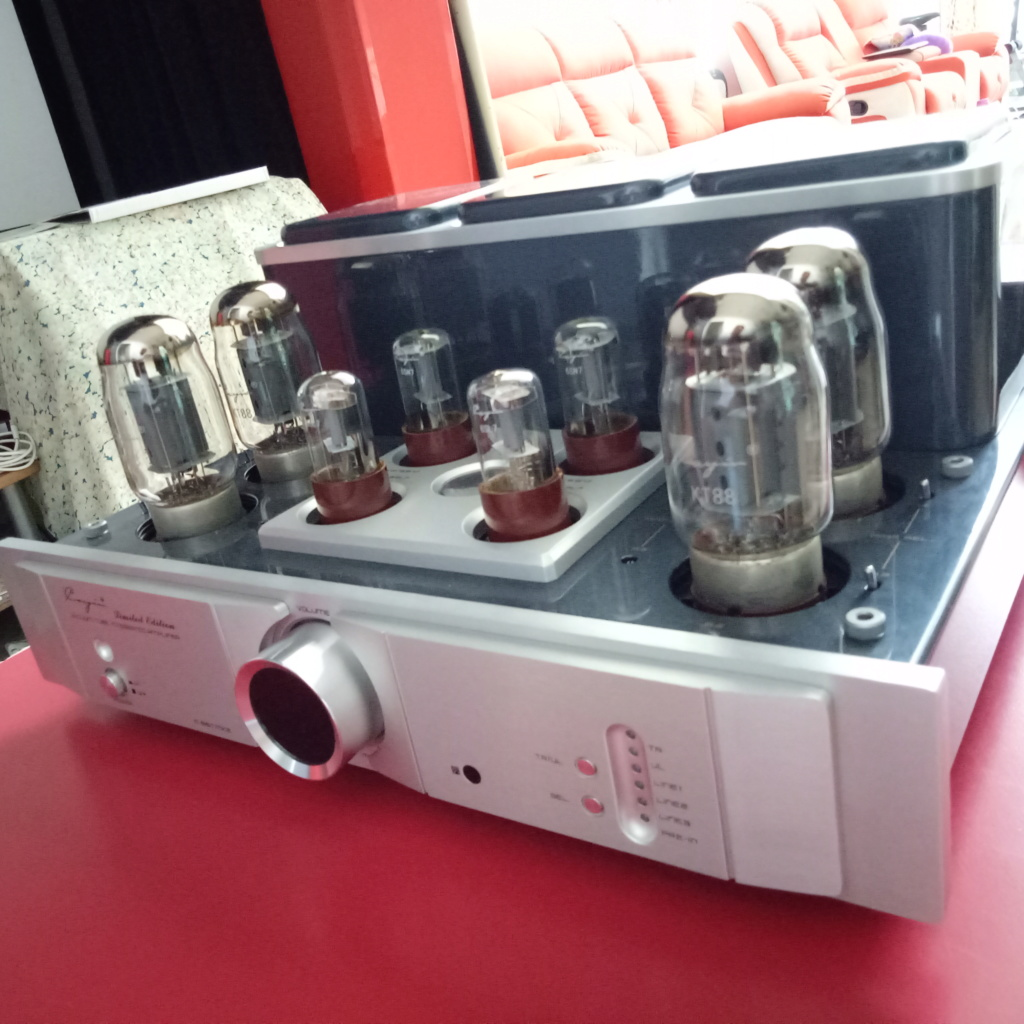 Cayin A-88T MK2 Tube Integrated Amplifier-99% New & Complete Set Img20114