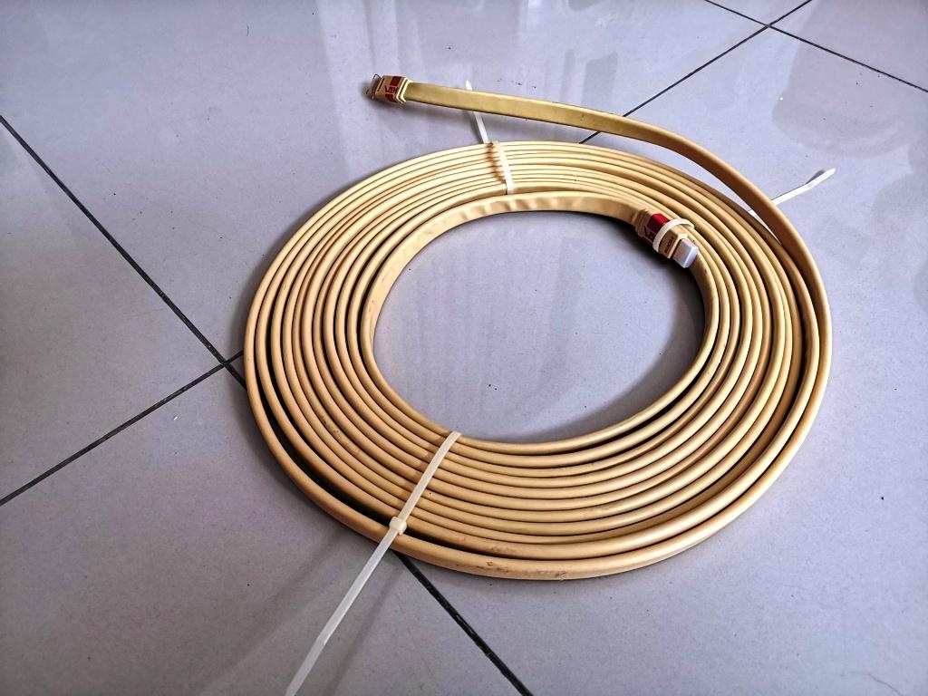 Van den Hul VDH HDMI Flat Cable (10 meters)-Used Img_2041