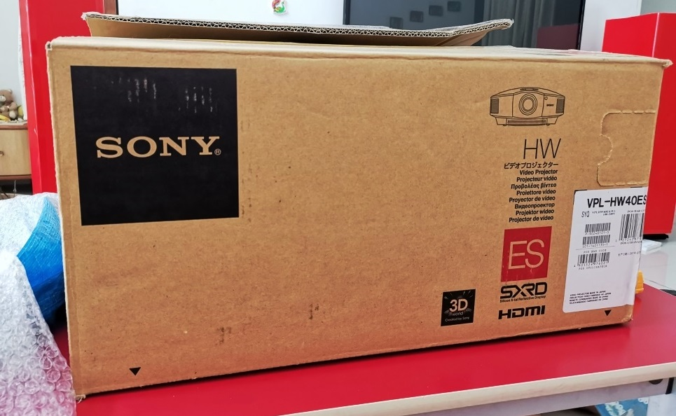 Sony VPL-HW40ES Projector With New Original Lamp Img_2100