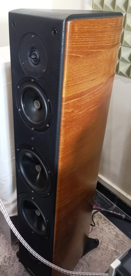 Sonus Faber Grand Piano Domus High End Speakers (Used Complete Set) Img_2139