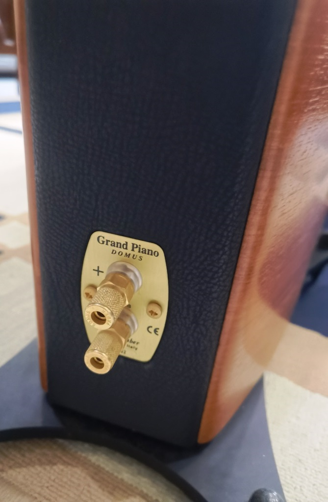 Sonus Faber Grand Piano Domus High End Speakers (Used Complete Set) Img_2145