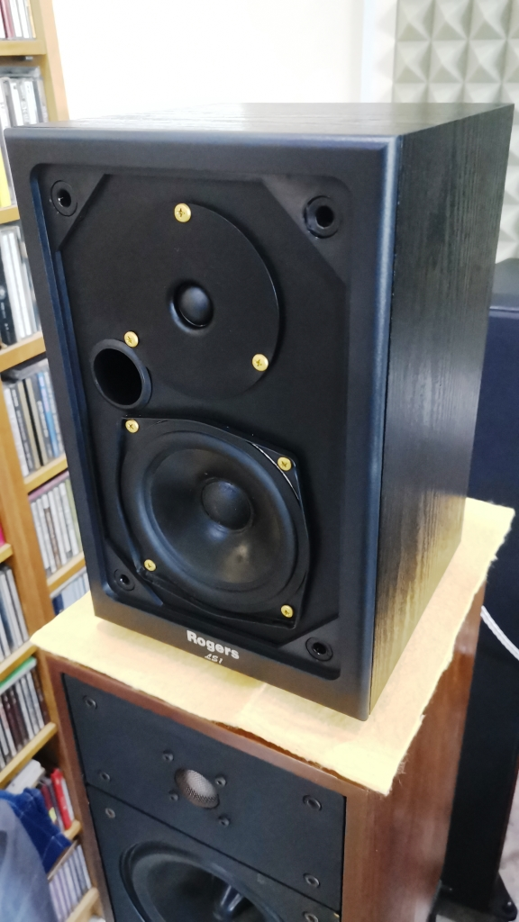 Rogers LS-1 Classic Monitor Speakers, Sweet British Sound (Used In Good Condition) Img_2149