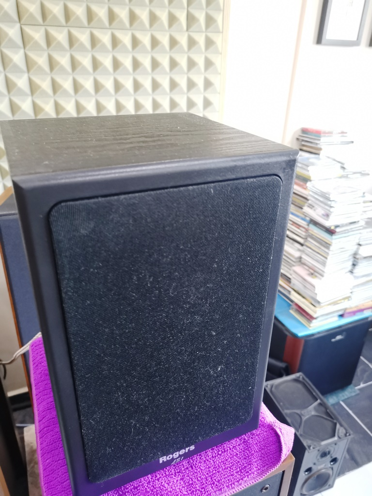 Rogers LS-1 Classic Monitor Speakers, Sweet British Sound (Used In Good Condition) Img_2151