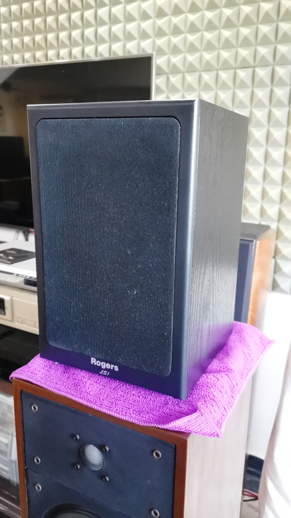 Rogers LS-1 Classic Monitor Speakers, Sweet British Sound (Used In Good Condition) Img_2152