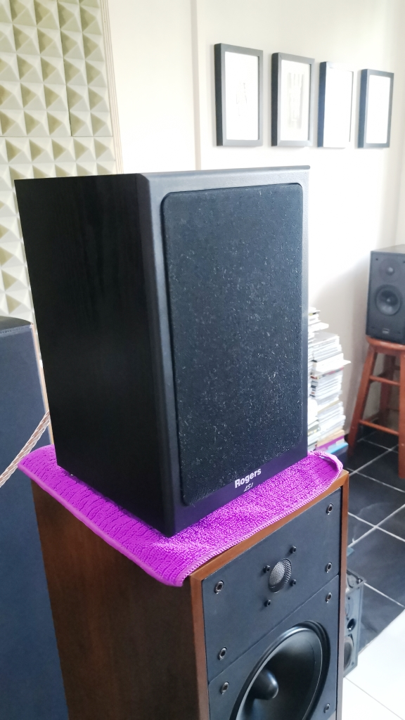 Rogers LS-1 Classic Monitor Speakers, Sweet British Sound (Used In Good Condition) Img_2153