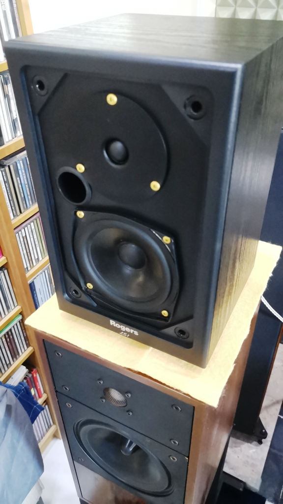Rogers LS-1 Classic Monitor Speakers, Sweet British Sound (Used In Good Condition) Img_2154