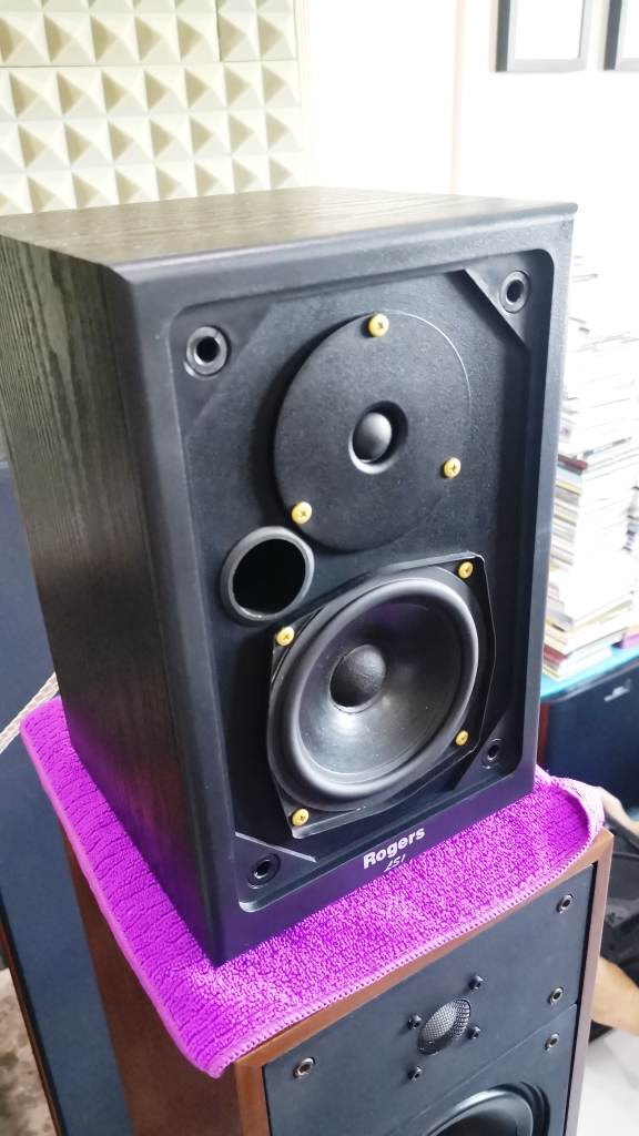 Rogers LS-1 Classic Monitor Speakers, Sweet British Sound (Used In Good Condition) Img_2155