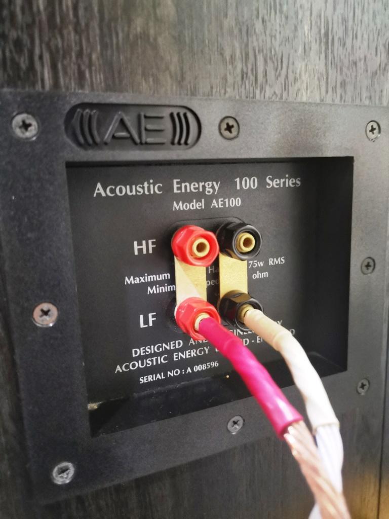 Acoustic Energy AE100 Bookshelf Speakers (used) Img_2170