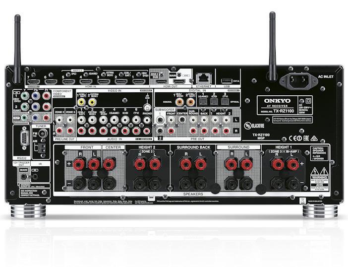 ONKYO TX-RZ830 High End AV Amp (100% Brand New) Onkyo_16