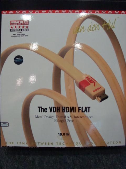 Van den Hul VDH HDMI Flat Cable (10 meters)-Used Vanden10