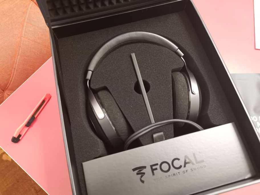 Used Focal Elear Headphone Made in France Made-Good Condition & Complete Set Whatsa64