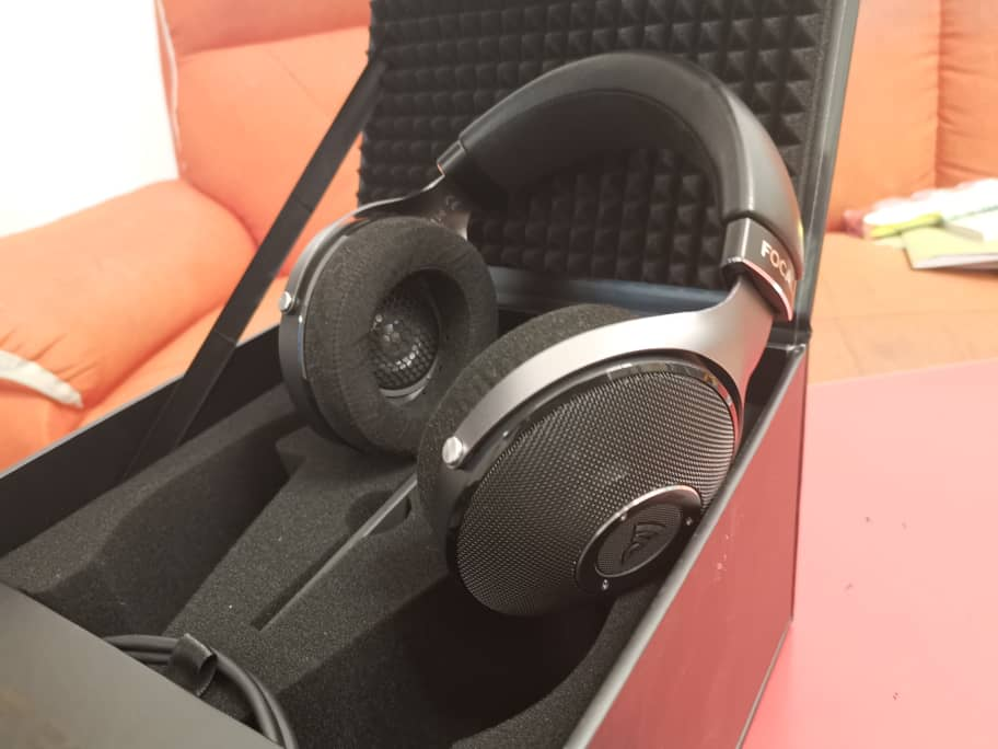 Used Focal Elear Headphone Made in France Made-Good Condition & Complete Set Whatsa72