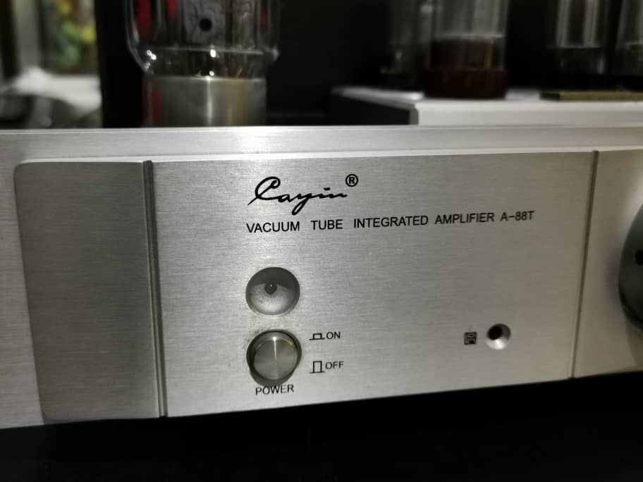 Cayin High End Tube/Valve Integrated Amplifier (A-88T) With Upgraded Tubes Whatsa77