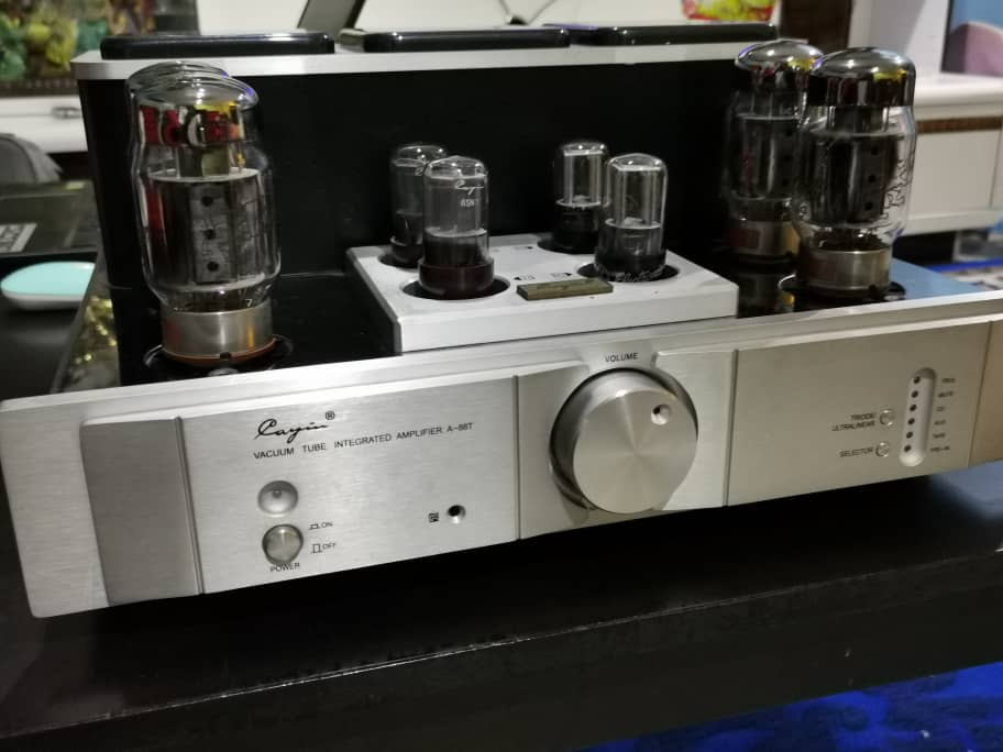 Cayin High End Tube/Valve Integrated Amplifier (A-88T) With Upgraded Tubes Whatsa81