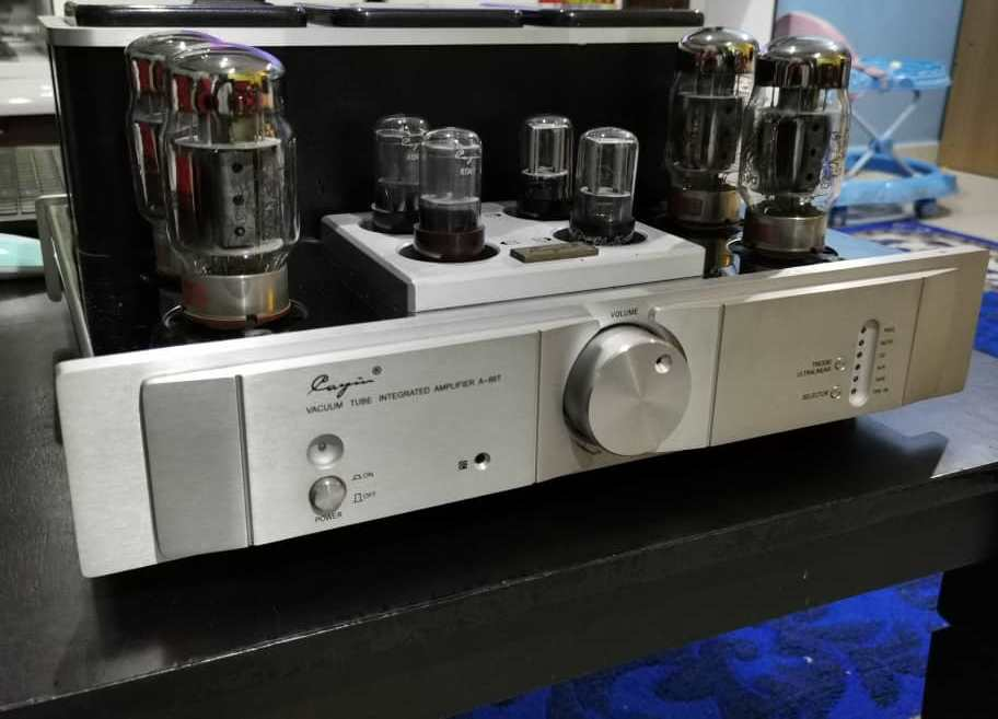 Cayin High End Tube/Valve Integrated Amplifier (A-88T) With Upgraded Tubes Whatsa82