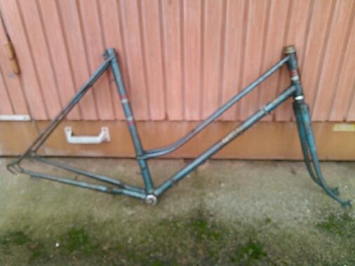 Vélo nancia cadre spécial double tubes anglais Emp_912