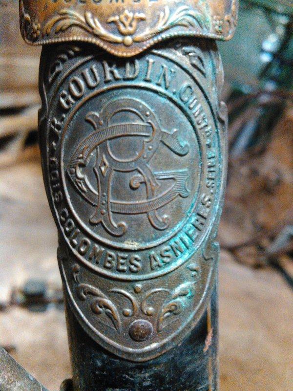 Col de cygne Gourdin Bois colombes années 20 Kimg0629