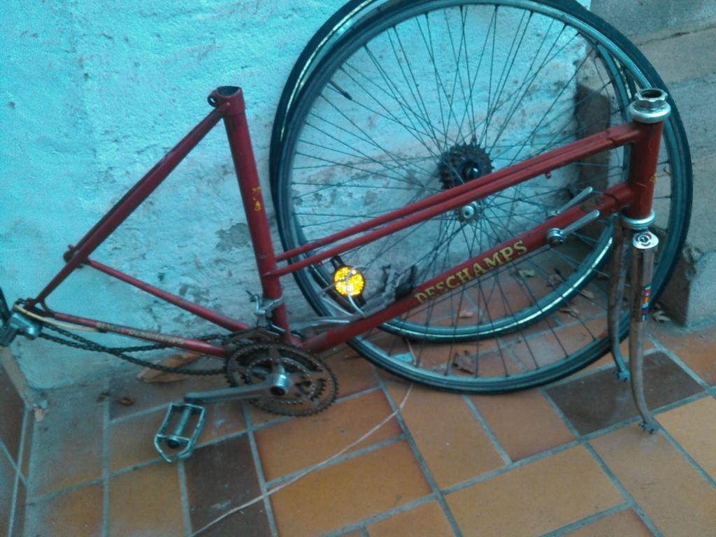 Vélo course cadre double tube CBT Italia Kimg0960
