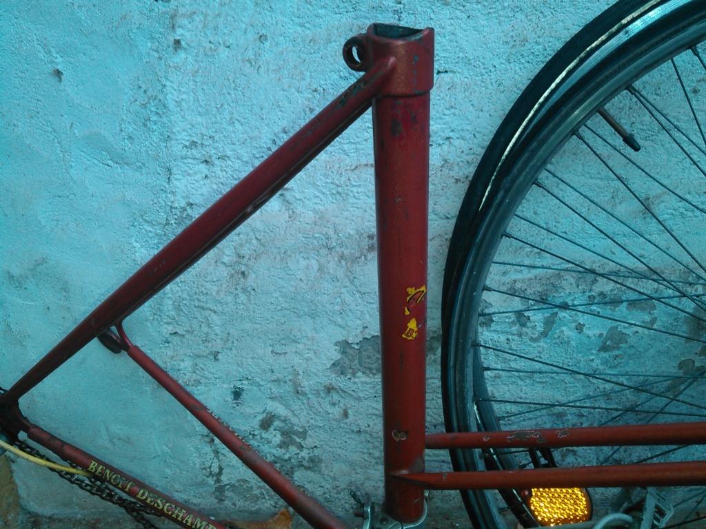 Vélo course cadre double tube CBT Italia Kimg0962