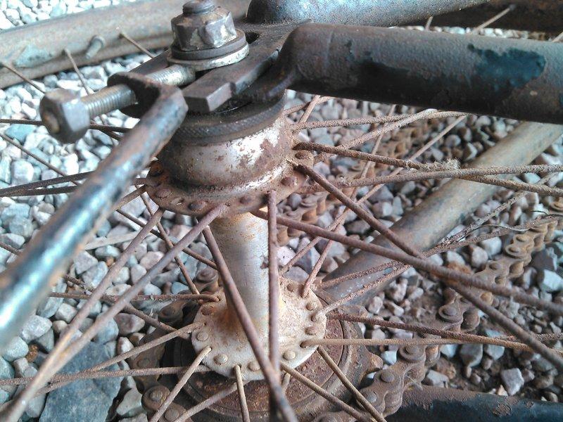 Bicyclette de dame inconnue Kimg1127