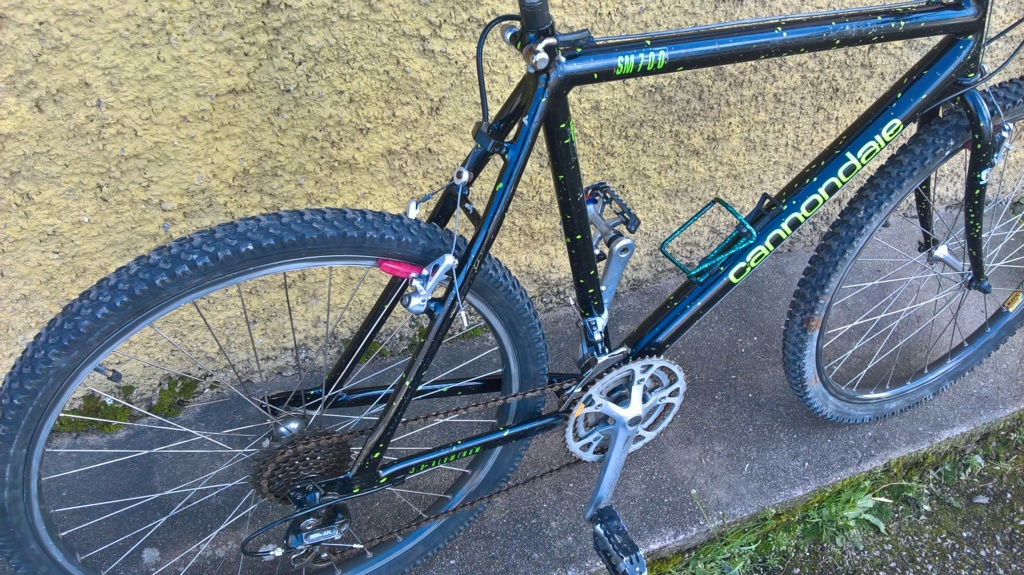 VTT Cannondale SM700 Competition series  Wp_20275