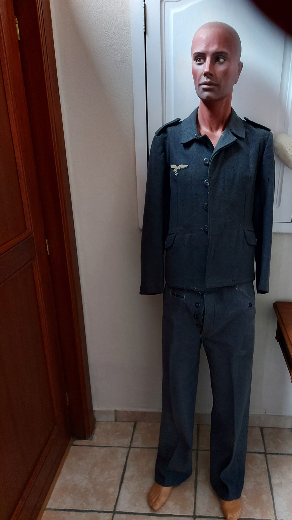 Du luftwaffe, coiffure,uniforme  20201044