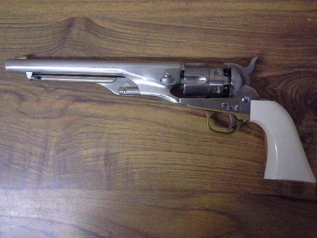 COLT 1860 (1862?) nickelé et ivoire Colt1811