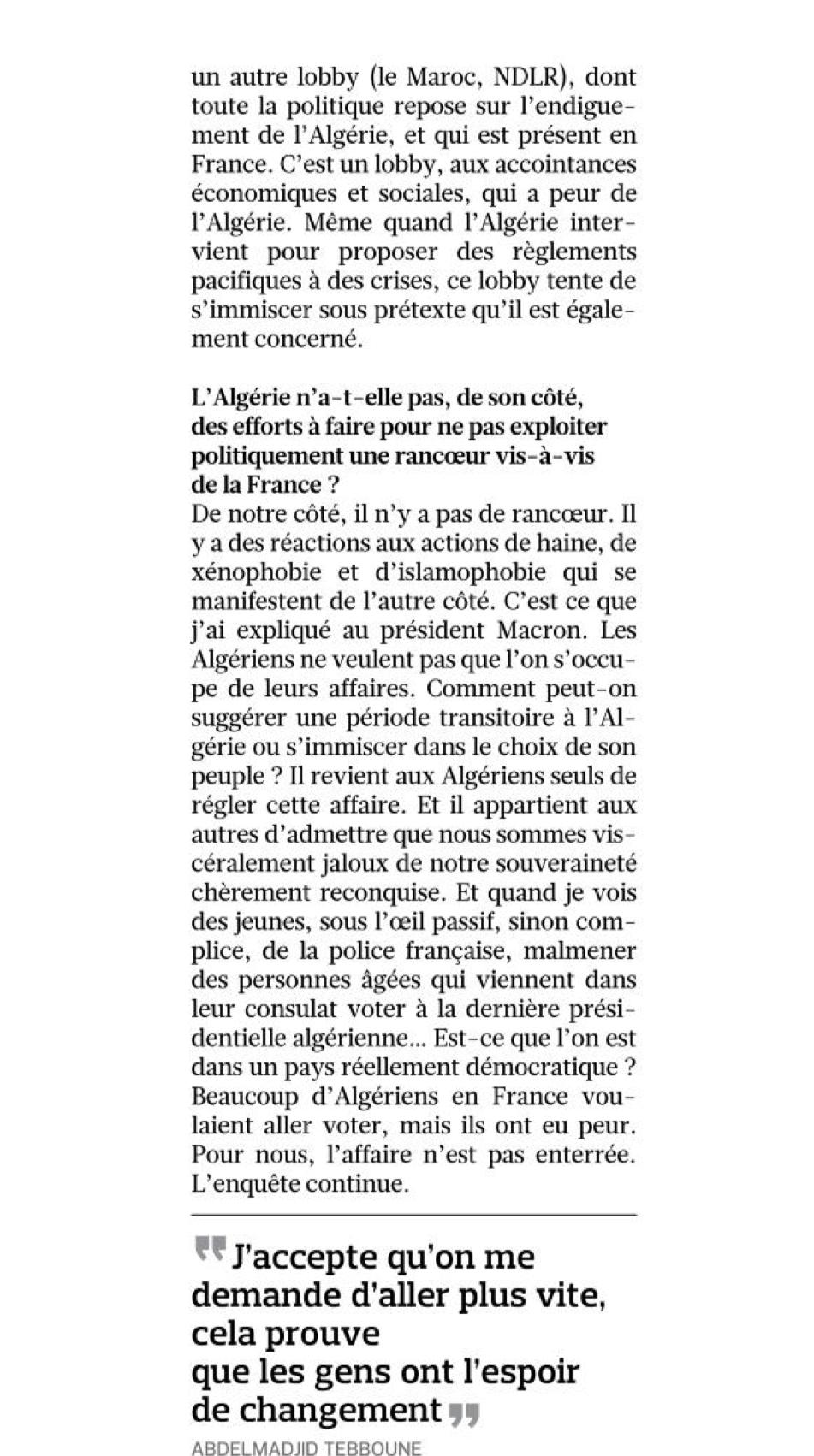 Actualités Algeriennes B9594910