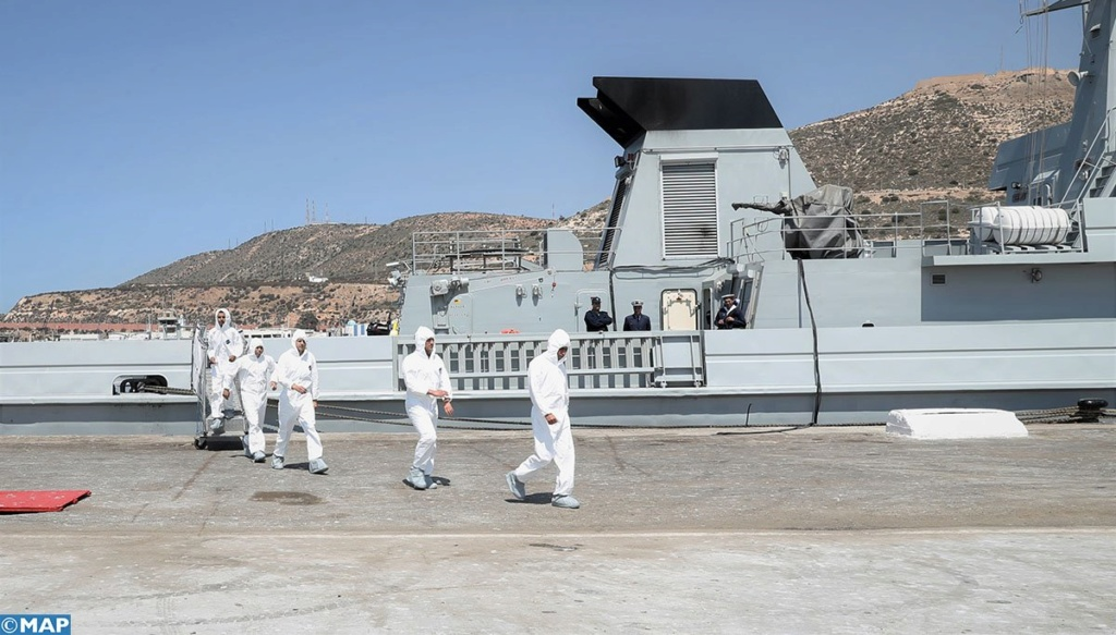 Royal Moroccan Navy Patrol Boats / Patrouilleurs de la Marine Marocaine - Page 13 D3f1gz10