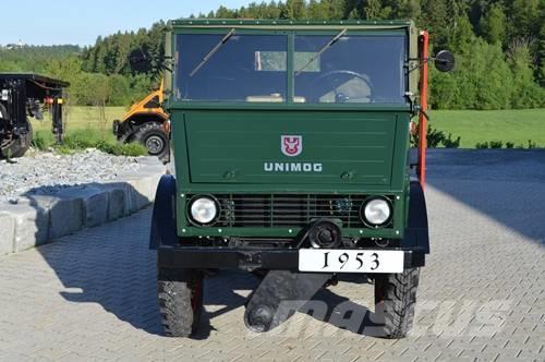 Unimog 2010 de 1953 à vendre pour collectionneur richissime ! Unimog15