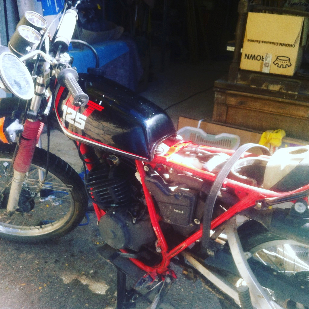Yamaha DTMX 125 N°2A8187281 Img_9910