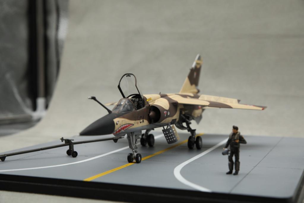 KittyHawk 1/48 - Mirage F1 CR 1/33 Belfort Tchad 410a4518