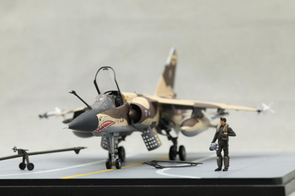 KittyHawk 1/48 - Mirage F1 CR 1/33 Belfort Tchad 410a4525