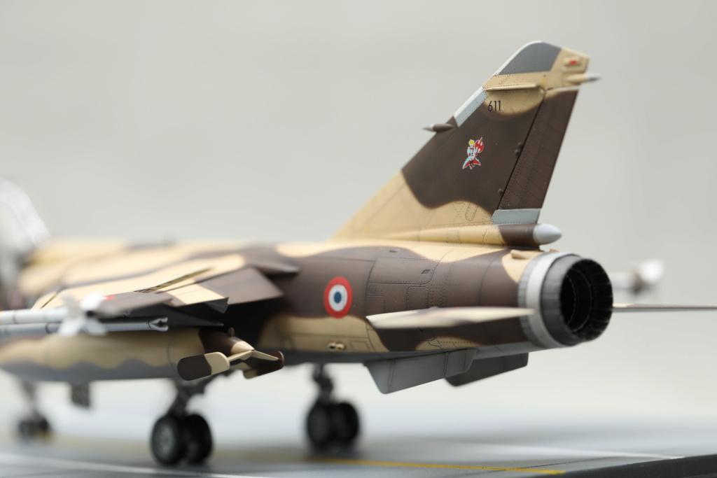 KittyHawk 1/48 - Mirage F1 CR 1/33 Belfort Tchad 410a4617