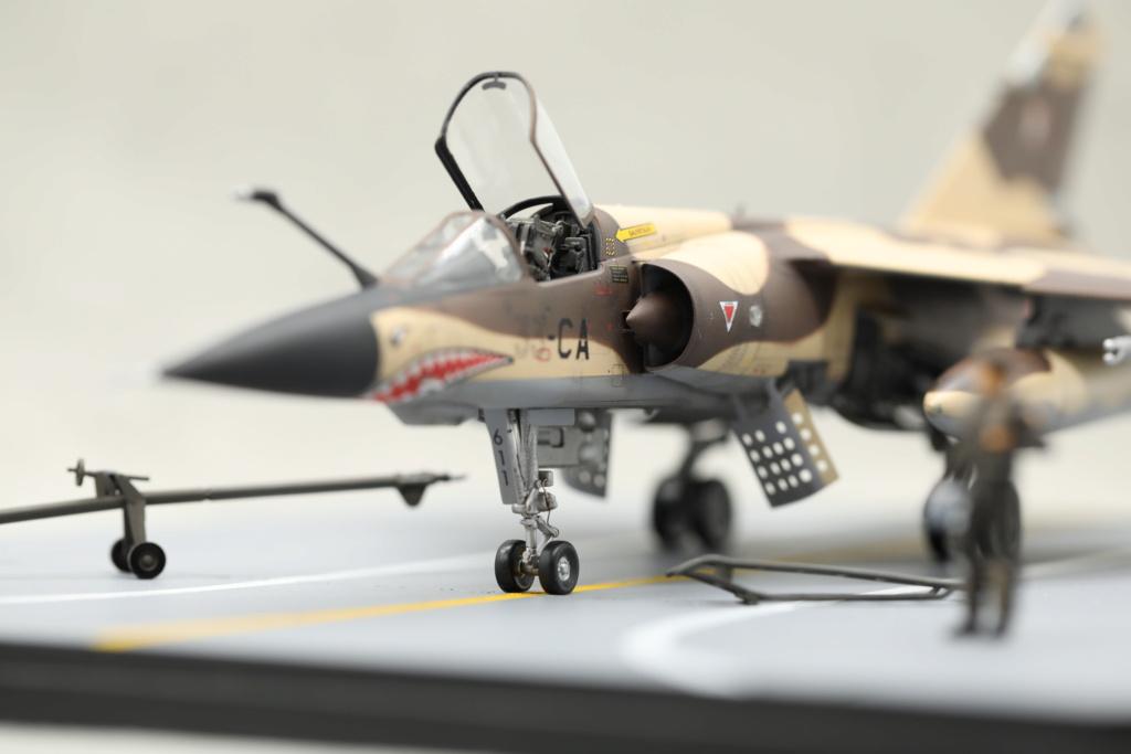 KittyHawk 1/48 - Mirage F1 CR 1/33 Belfort Tchad 410a4618