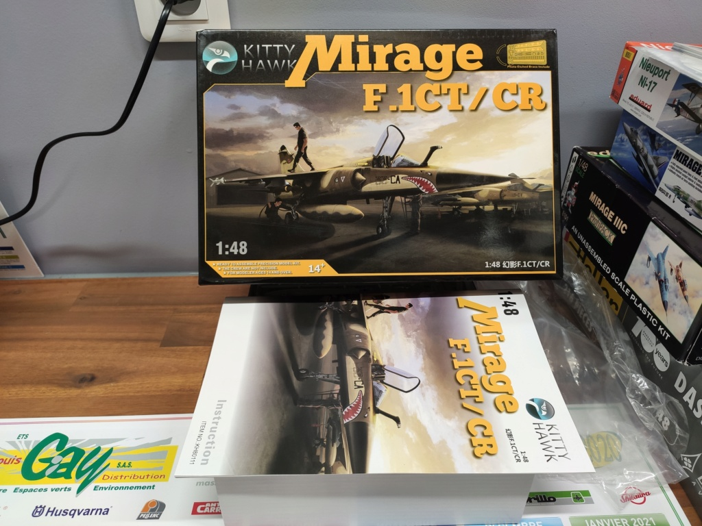 Mirage F1 CT/CR 1/48 Kittyhawk Img_2012