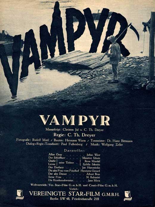 Mejor cartel vampírico Vampyr10